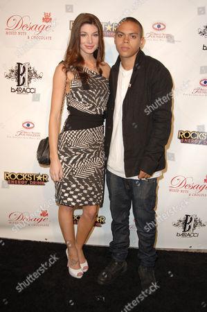Cora Skinner and Evan Ross