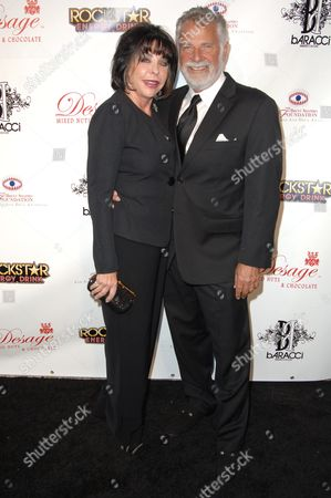 Stock Photo of Jonathan Goldsmith and wife Barbara Goldsmith