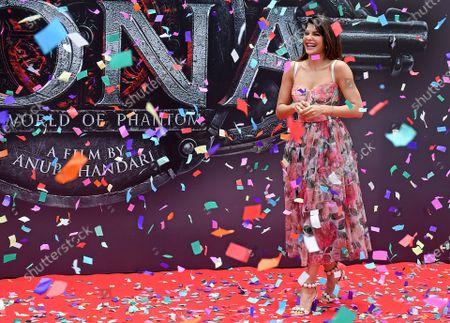 Editorial image of Poster launch of Indian Kannada film 'Vikrant Rona', Mumbai, India - 31 Jul 2021