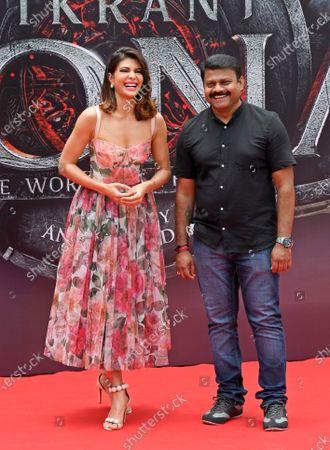 Editorial picture of Poster launch of Indian Kannada film 'Vikrant Rona', Mumbai, India - 31 Jul 2021