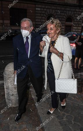 Gianni and Maddalena Letta.