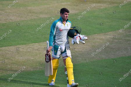 Stock Picture of Australia's  Cricket Player Moises Henriques during practice session at Shere Bangla National Cricket Stadium in Dhaka, Bangladesh on August 1, 2021. ahead of their T20 cricket match against Bangladesh.