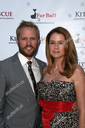 Lee Kirk with Jenna Fischer