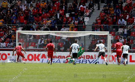 Editorial photo of Toluca vs Tigres, Mexico - 01 Aug 2021