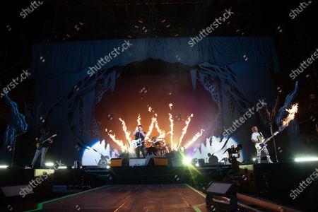 Editorial image of Hella Mega tour, Hard Rock Stadium, Miami Gardens, Florida, USA - 01 Aug 2021