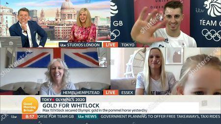 Editorial photo of 'Good Morning Britain' TV Show, London, UK - 02 Aug 2021