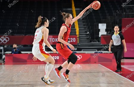 Editorial photo of Tokyo 2020 Olympics Day 11 Basketball Belgium Vs China, Tokyo, Japan - 02 Aug 2021
