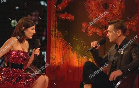 Davina McCall and Samuel Preston