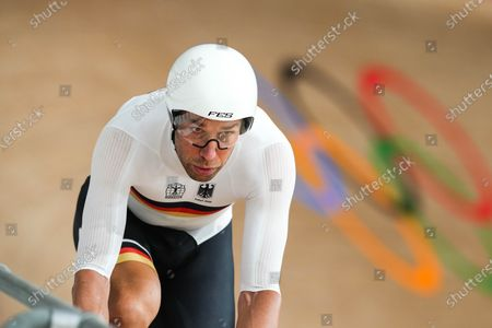 Roger Kluge (GER) - Cycling : Official Practice during the Tokyo 2020 Olympic Games at the Izu Velodrome in Shizuoka, Japan.