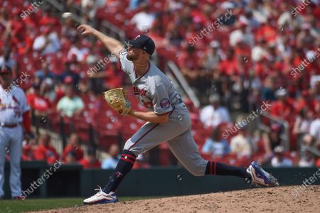 Editorial image of Twins Cardinals Baseball, St. Louis, United States - 01 Aug 2021