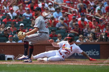 Editorial picture of Twins Cardinals Baseball, St. Louis, United States - 01 Aug 2021
