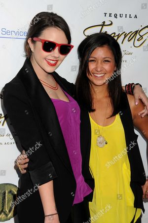 Stock Picture of Alexis Neiers and Danielle Scheid