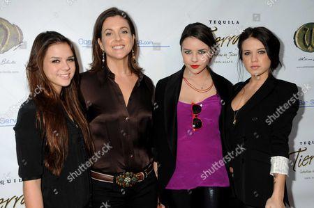 Gabby Neiers, Andrea Arlington, Alexis Neiers and Tess Taylor