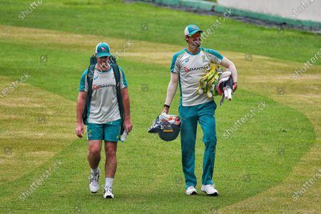 Editorial picture of Australia Cricket Team Practice Session, Dhaka, Bangladesh - 02 Aug 2021