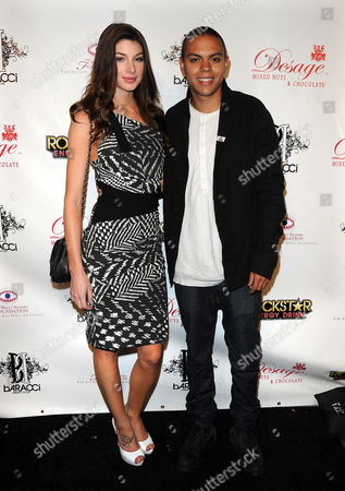 Stock Picture of Cora Skinner and Evan Ross