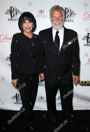 Stock Picture of Barbara Goldsmith and Jonathan Goldsmith