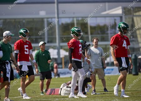 Editorial photo of NFL NY Jets Training Camp, Florham Park, USA - 02 Aug 2021