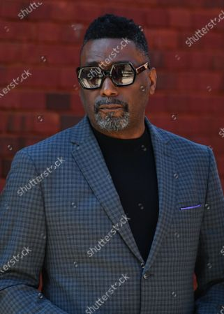 Big Daddy Kane attends the funeral for Marcel Theo Hall a/k/a Biz Markie at the Patchogue Theatre for the Performing Arts2 Aug 2021