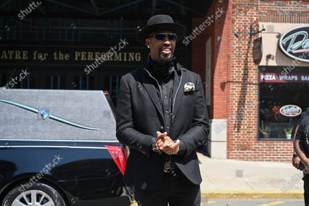 Editorial image of Biz Markie funeral, Patchogue Theatre for the Performing Arts, New York, USA - 02 Aug 2021