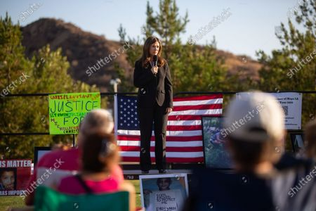 Stock Photo of Cynthia Zimmer, Kern County District Attorney calls for the recall of George Gascon on Thursday, July 29, 2021 in Santa Clarita, CA.(Jason Armond / Los Angeles Times)