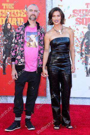Stock Image of Sean Gunn and Natasha Halevi