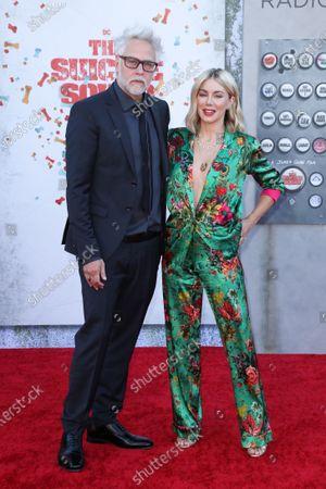 James Gunn and Jennifer Holland
