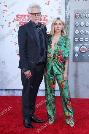 Stock Photo of James Gunn and Jennifer Holland