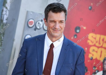 Stock Picture of Nathan Fillion
