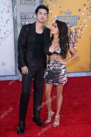 Stock Photo of Darren Barnet and Mikaela Hoover