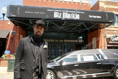 Editorial picture of Biz Markie funeral, Patchogue Theatre for the Performing Arts, New York, USA - 02 Aug 2021