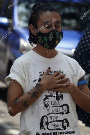 Editorial image of Relatives Of Case Narvarte Demand Justice, Mexico City, Mexico - 31 Jul 2021
