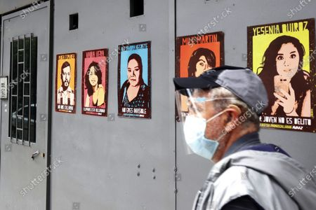 Editorial picture of Relatives Of Case Narvarte Demand Justice, Mexico City, Mexico - 31 Jul 2021