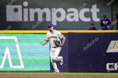 Editorial photo of Pirates Brewers Baseball, Milwaukee, United States - 02 Aug 2021
