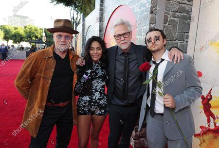 Michael Rooker, Jessie Reyez, James Gunn, Writer/Director, Grandson
