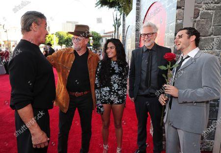 Sylvester Stallone, Michael Rooker, Jessie Reyez, James Gunn, Writer/Director, Grandson