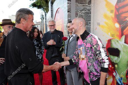 Sylvester Stallone, Michael Rooker, Jessie Reyez, James Gunn, Writer/Director, Grandson, Sean Gunn