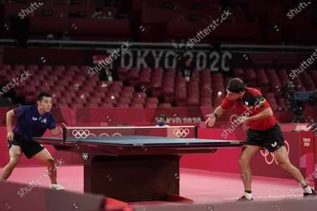 Editorial picture of Olympics Table Tennis, Tokyo, Japan - 03 Aug 2021