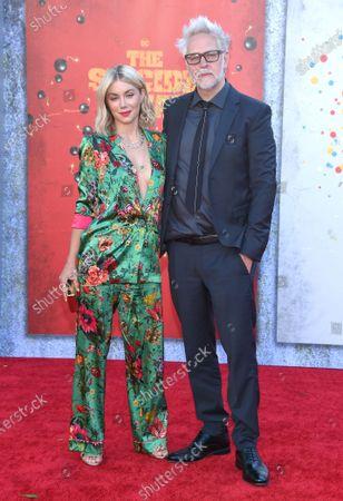 Jennifer Holland and James Gunn