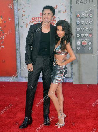 Darren Barnet and Mikaela Hoover