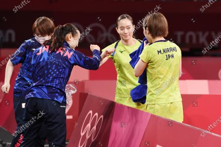 Editorial image of Tokyo Olympic Games 2020 - Table Tennis, Tokyo, Japan - 03 Aug 2021