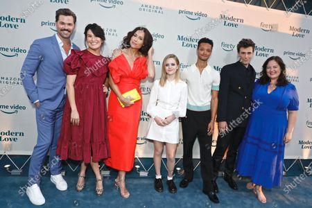 Andrew Rannells, Zoe Chao, Minnie Driver, Lulu Wilson, Marquis Rodriguez, Zane Pais and Zuzanna Szadkowski