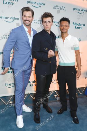 Andrew Rannells, Zane Pais and Marquis Rodriguez