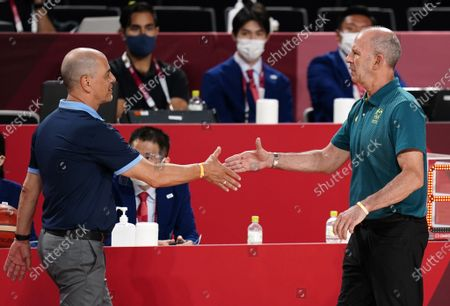 Editorial photo of Olympic Games 2020 Basketball, Saitama, Japan - 03 Aug 2021