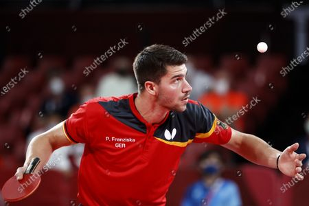 Editorial photo of Olympic Games 2020 Table Tennis, Tokyo, Japan - 03 Aug 2021