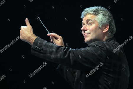 BBC Wales National Orchestra conductor Grant Llewellyn