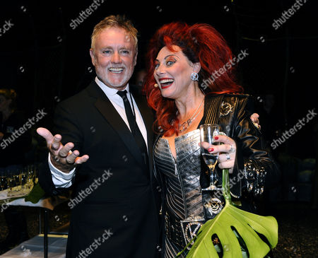 Stock Image of Roger Taylor and Tina Leijonberg