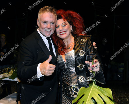 Stock Image of Roger Taylor and Tina Leijonberg