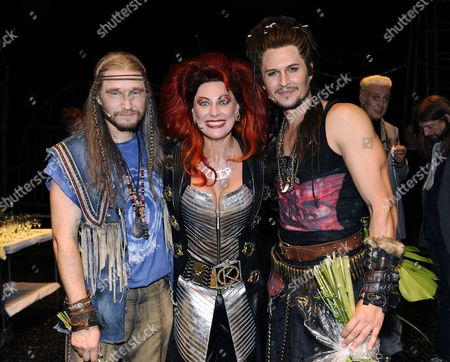 Editorial photo of 'We Will Rock You' musical opening night, Stockholm, Sweden - 12 Sep 2010