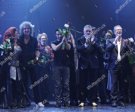 Editorial picture of 'We Will Rock You' musical opening night, Stockholm, Sweden - 12 Sep 2010