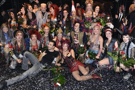 Editorial image of 'We Will Rock You' musical opening night, Stockholm, Sweden - 12 Sep 2010
